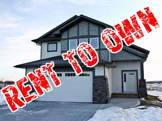 Rent to OWN in Penhold Alberta (Red Deer County) - Brand New, Never Lived In